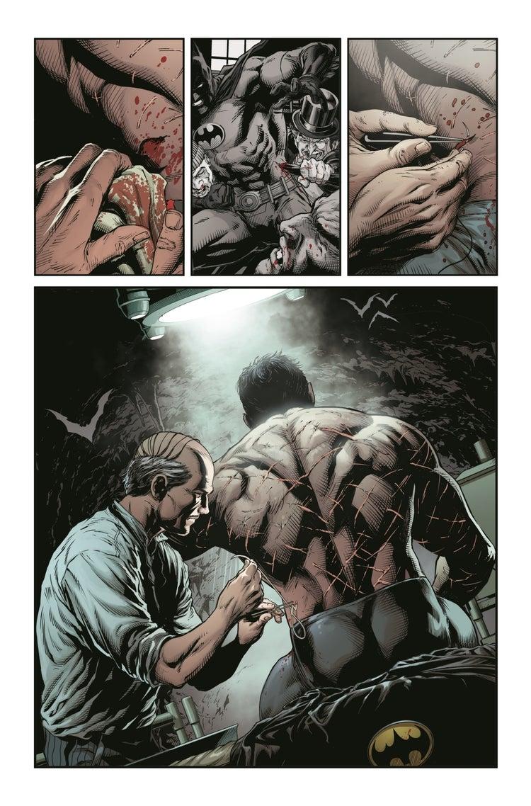 #ComicConAtHome: Primer vistazo de Batman - Three Jokers 2