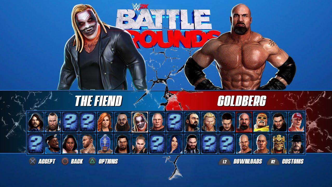 WWE 2K Battlegrounds: Conoce la fecha de salida y el roster oficial 5