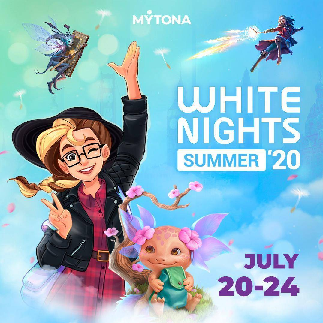 white nights summer