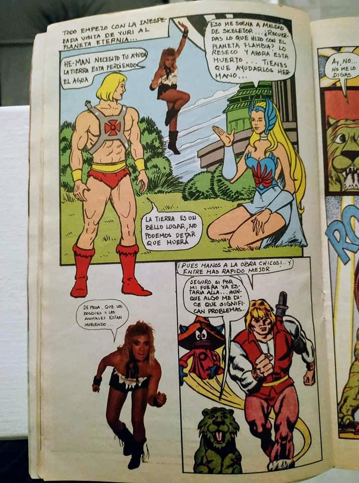He-Man y Yuri: El crossover de los 80's que nadie recuerda 10