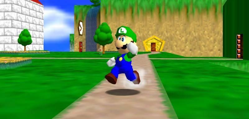 ¡Mamma mia! ¡Luigi si era elegible en Super Mario 64! 2