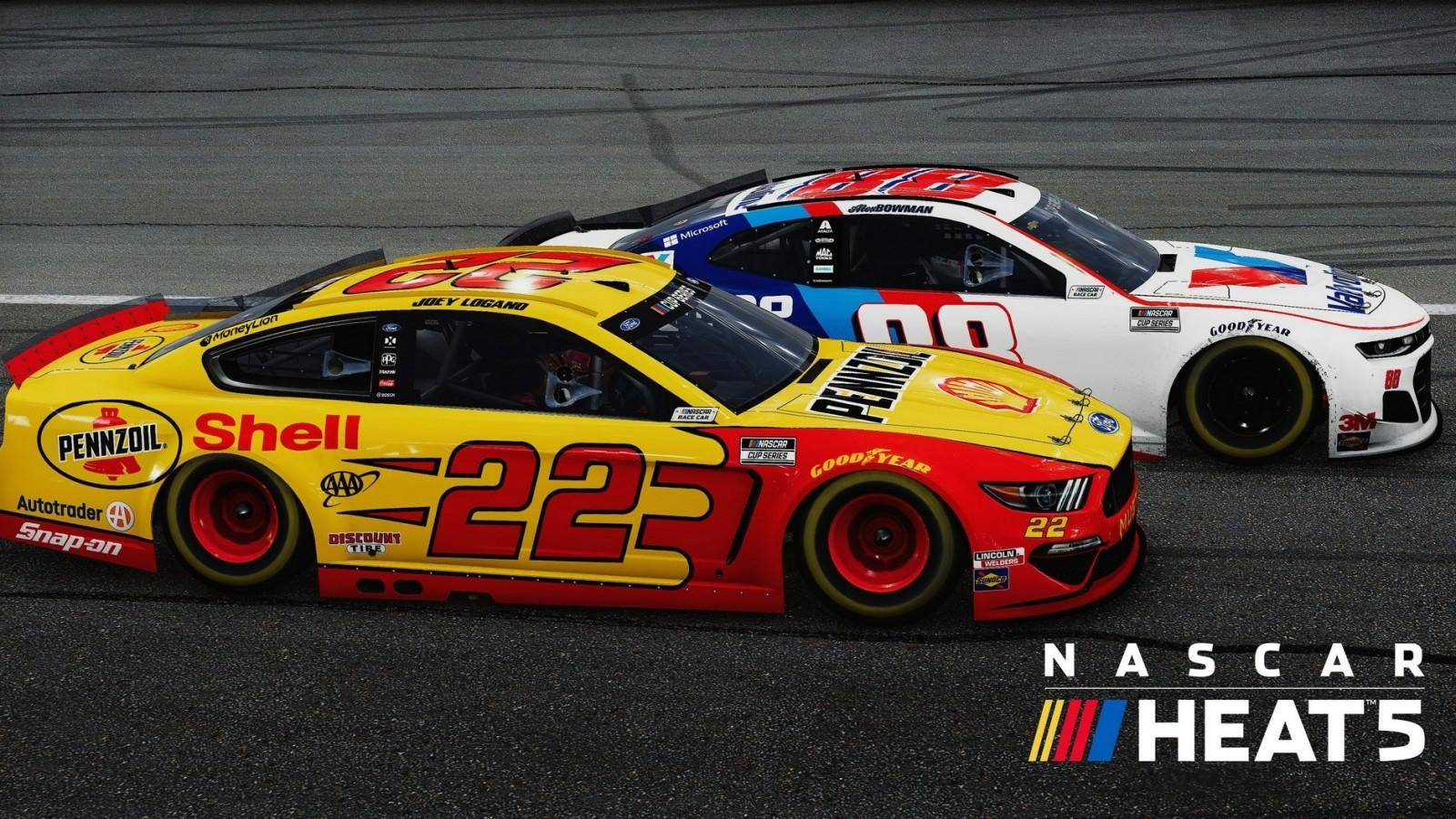 NASCAR Heat 5 ya está disponible 5