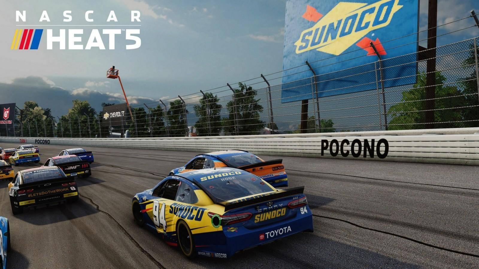 NASCAR Heat 5 ya está disponible 8
