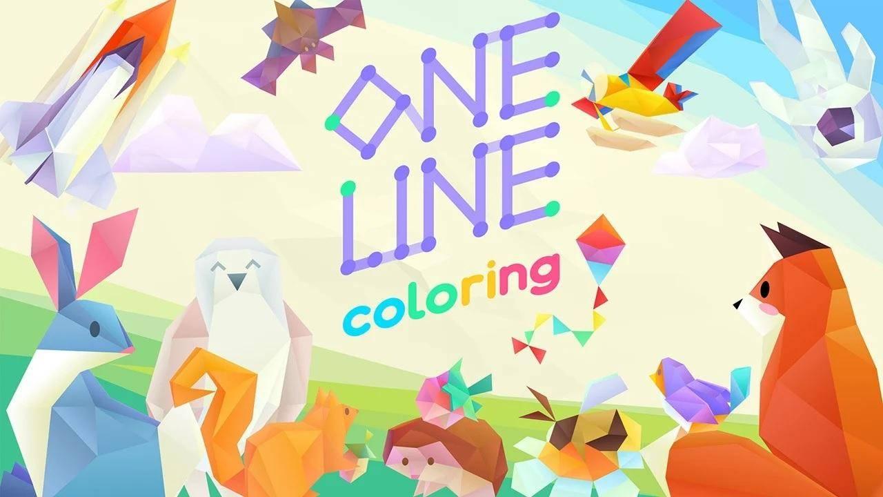 One Line Coloring llegará a Nintendo Switch el 21 de Agosto 3
