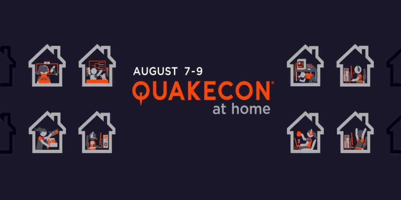 """QuakeCon 2020  ¡""""QuakeCon At Home"""" Llega Con Regalos Y Más! — No ..."""