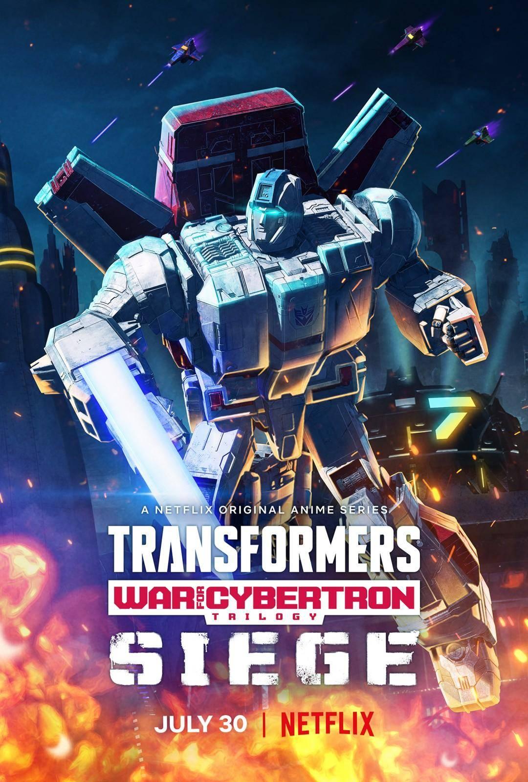 ¡Mira las nuevas imágenes de Transformers: War for Cybertron de Netflix! 2