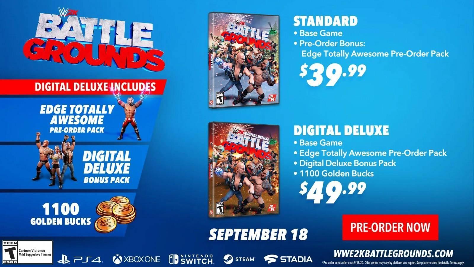 WWE 2K Battlegrounds: Conoce la fecha de salida y el roster oficial 8