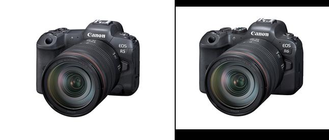 EOS R5 y EOS R6 son las cámaras son espejo completo más avanzadas de Canon 2