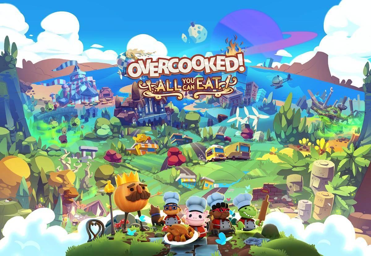 Overcooked! All You Can Eat estará llegando a PlayStation 5 y Xbox Series X 2