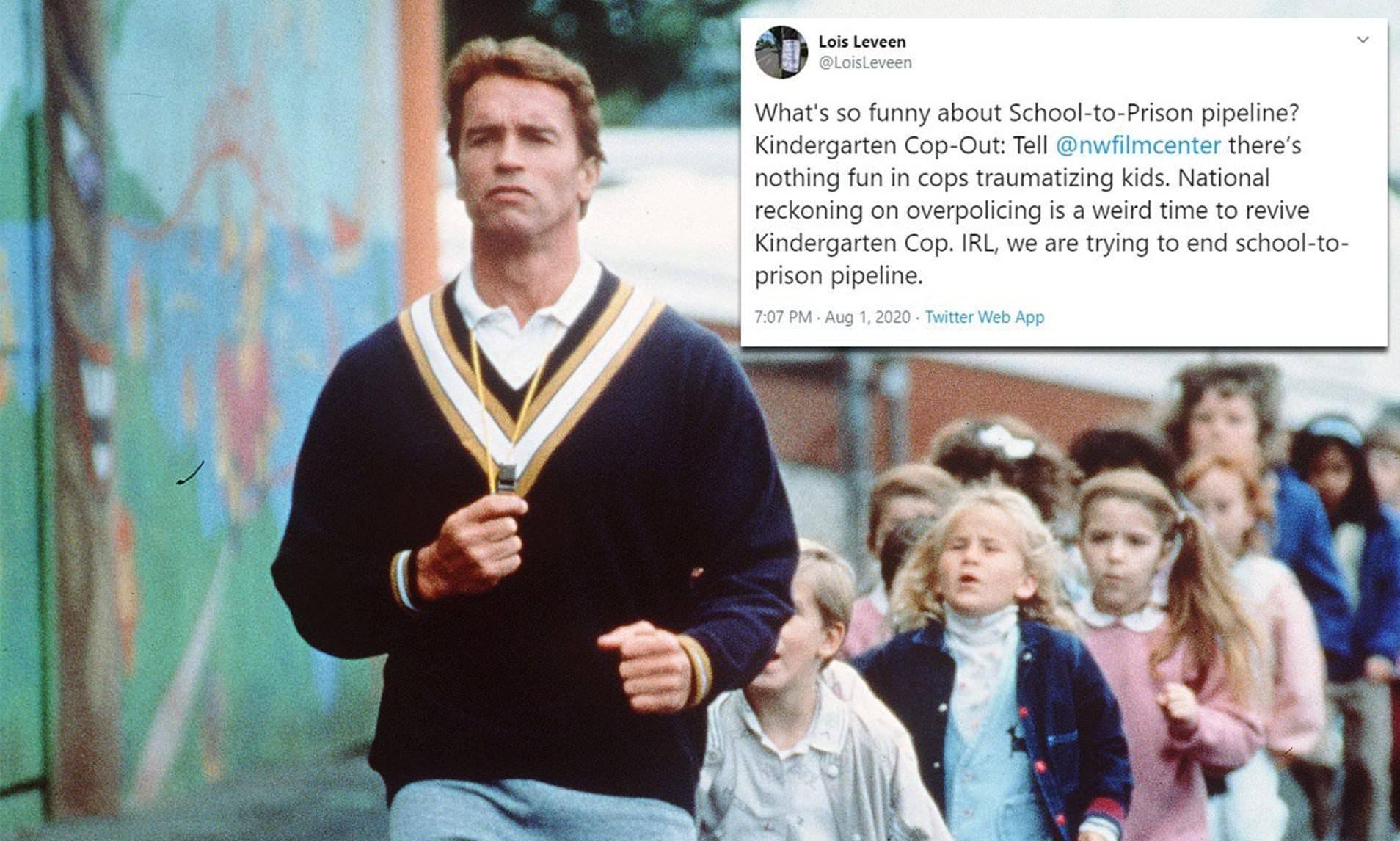 Arnold Schwarzenegger, Kindergarten Cop, Un detective en el kinder,