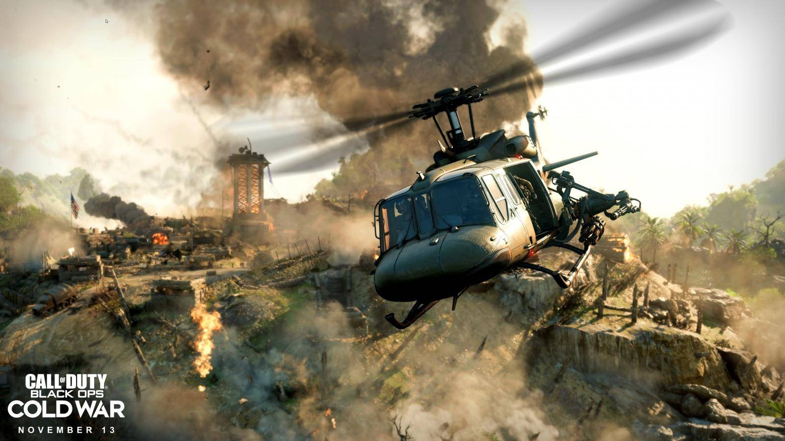 Se presenta el primer vistazo a Call of Duty: Cold War 1