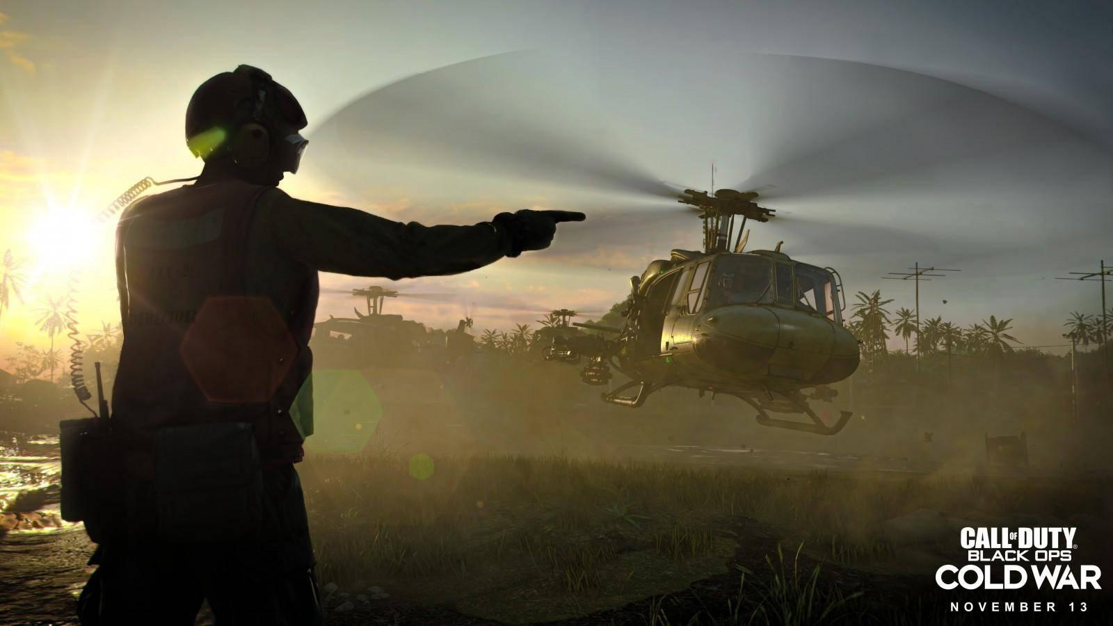 Se presenta el primer vistazo a Call of Duty: Cold War 5