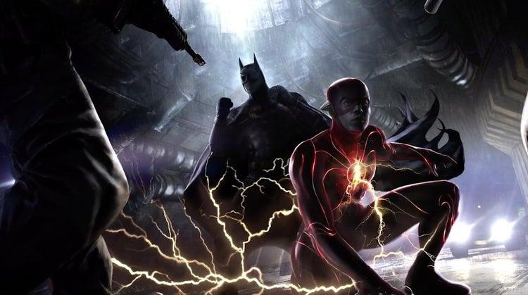 The Flash: Checa la primera y sangrienta imagen de Batman 1