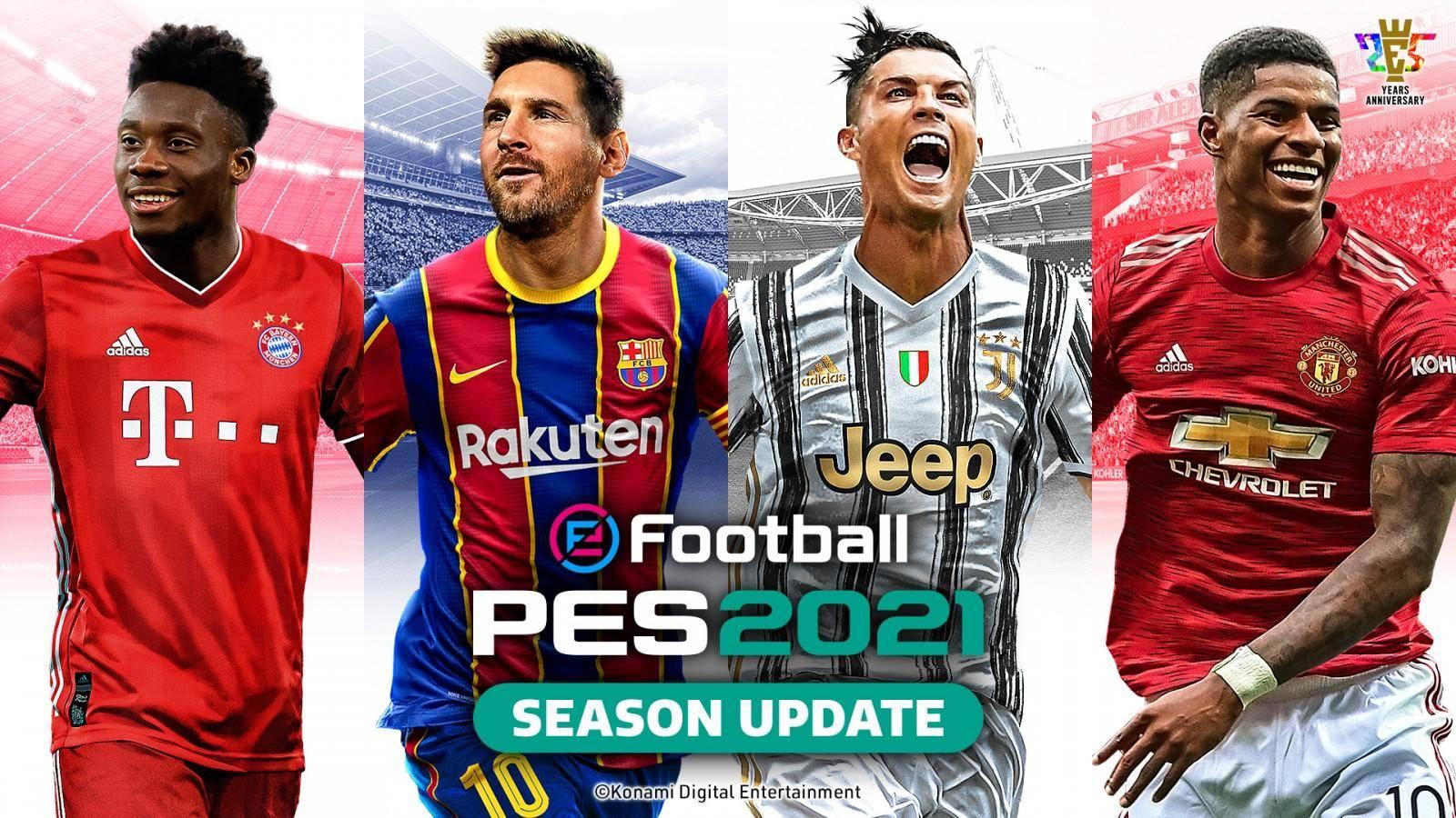 eFootball PES 2021 ya cuenta con portada oficial 1