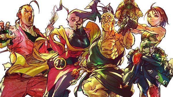 Street Fighter V DLC Akira, Dan, Oro y Rose