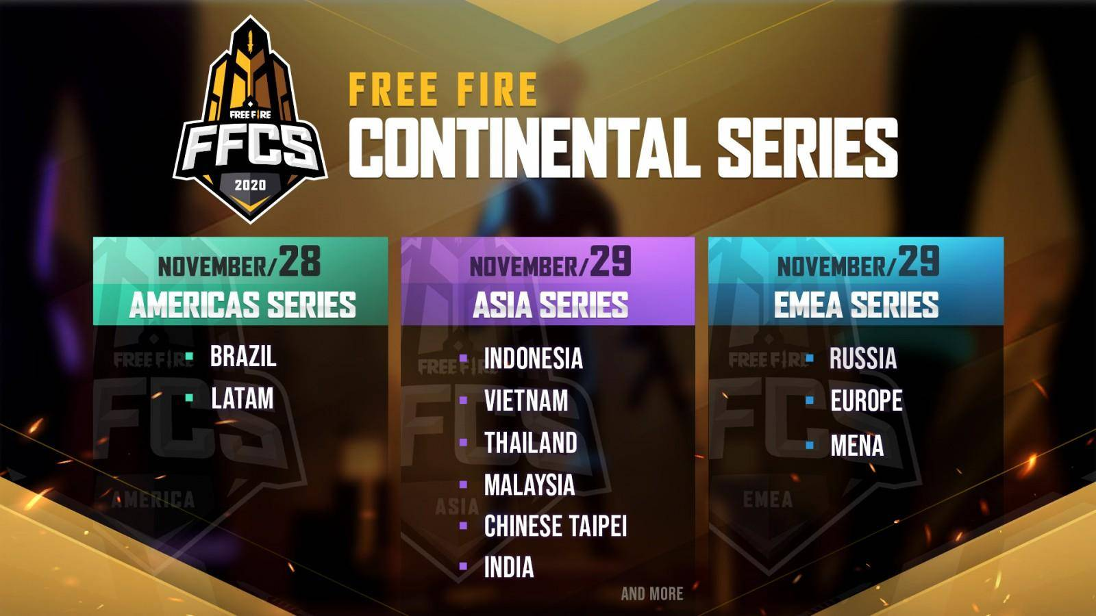 Free Fire Continental Series. 1