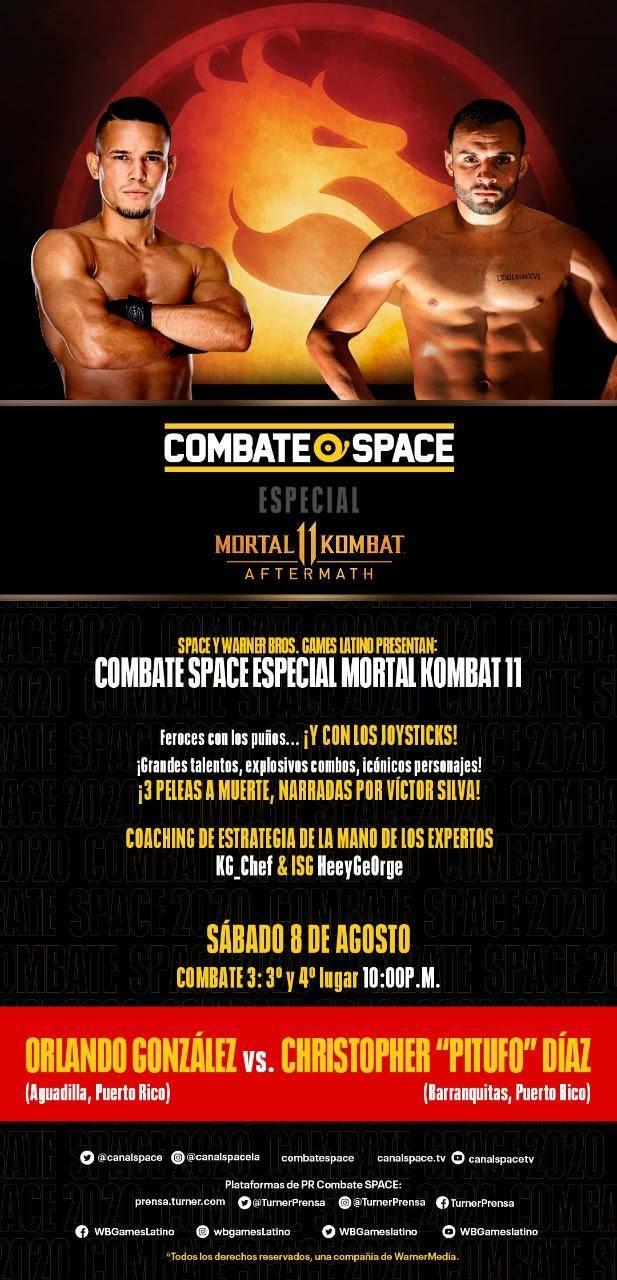Combate Space Mortal Kombat 11