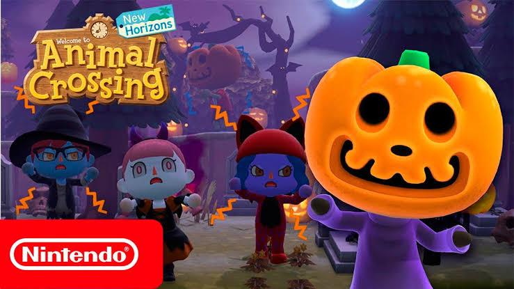 Animal Crossing, Halloween
