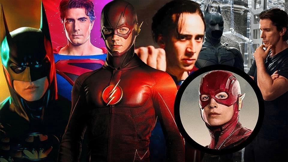 The Flash- Batman, Superman, DCEU