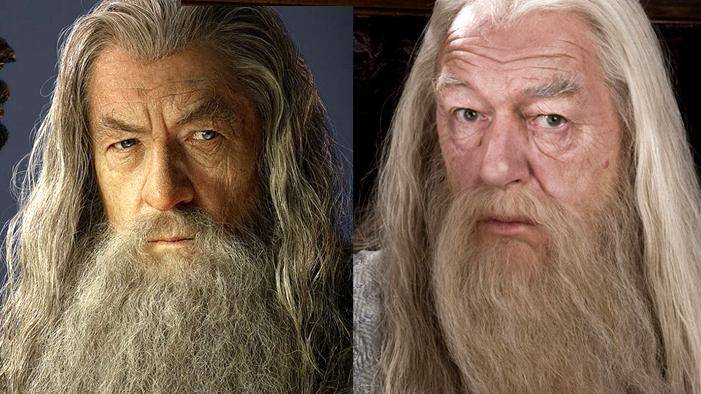 JK Rowling, JRR Tolkien, Gandalf, Dumbledore