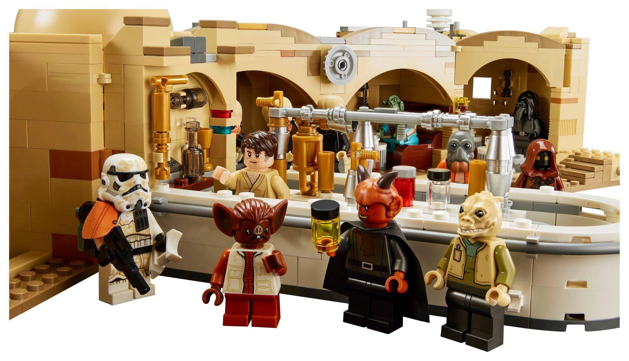 Lego Star Wars Cantina Mos Eisley