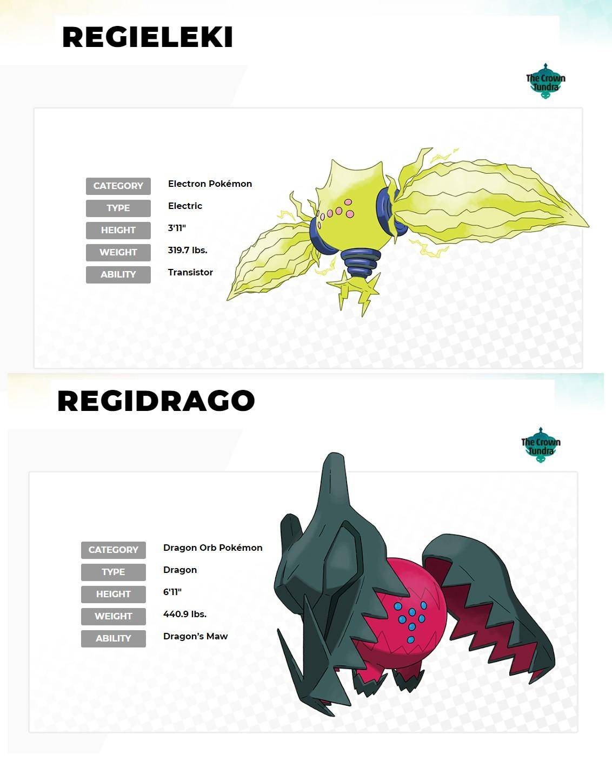 pokemon regieleki regidrago