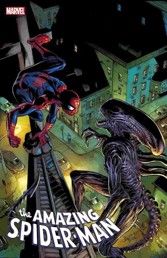 Marvel, Marvel vs Alien, Alien, Spider-Man