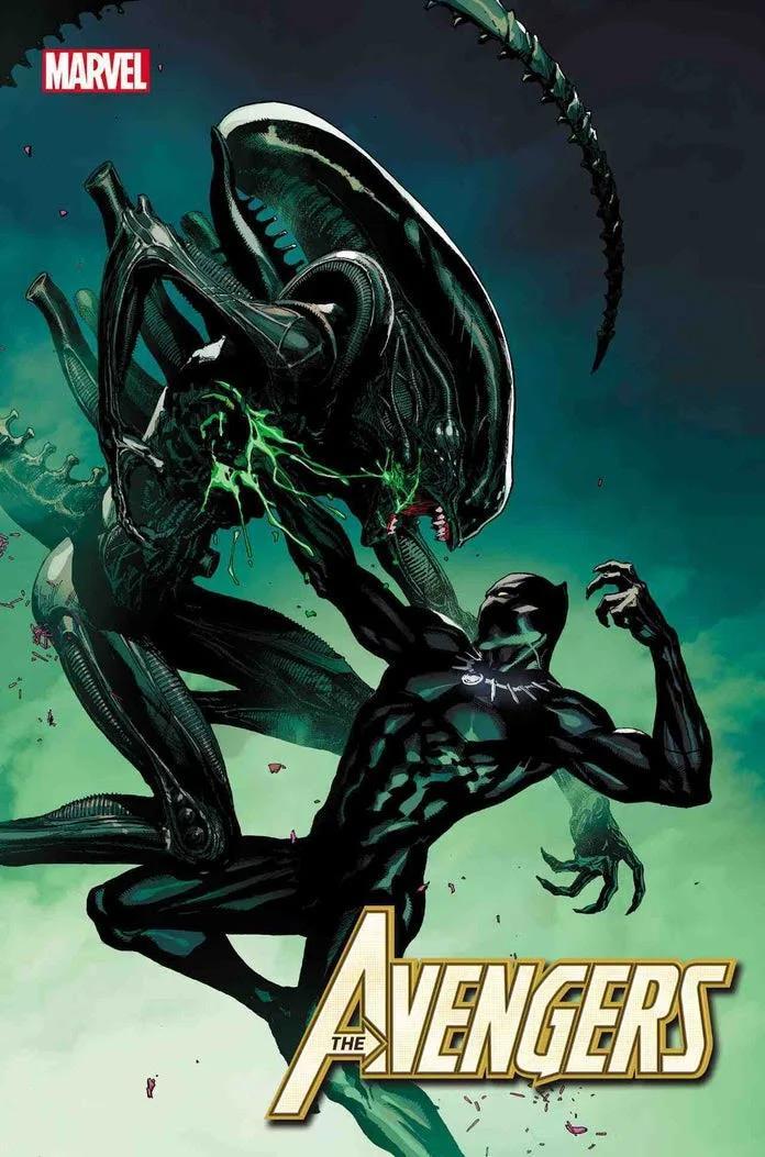 Marvel, Marvel vs Alien, Alien, Black Panther