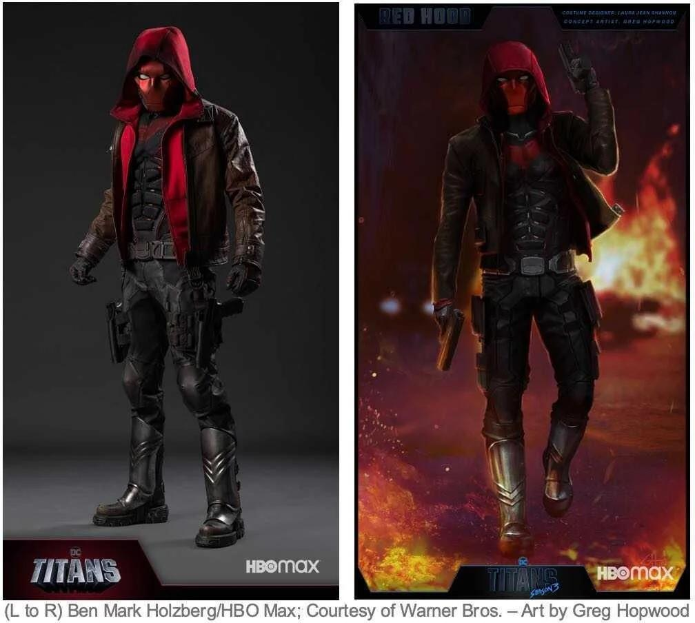 Titans, Red hood