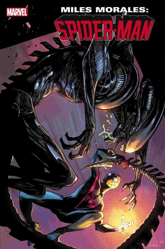 Marvel, Marvel vs Alien, Alien, Miles Morales, Spider-Man