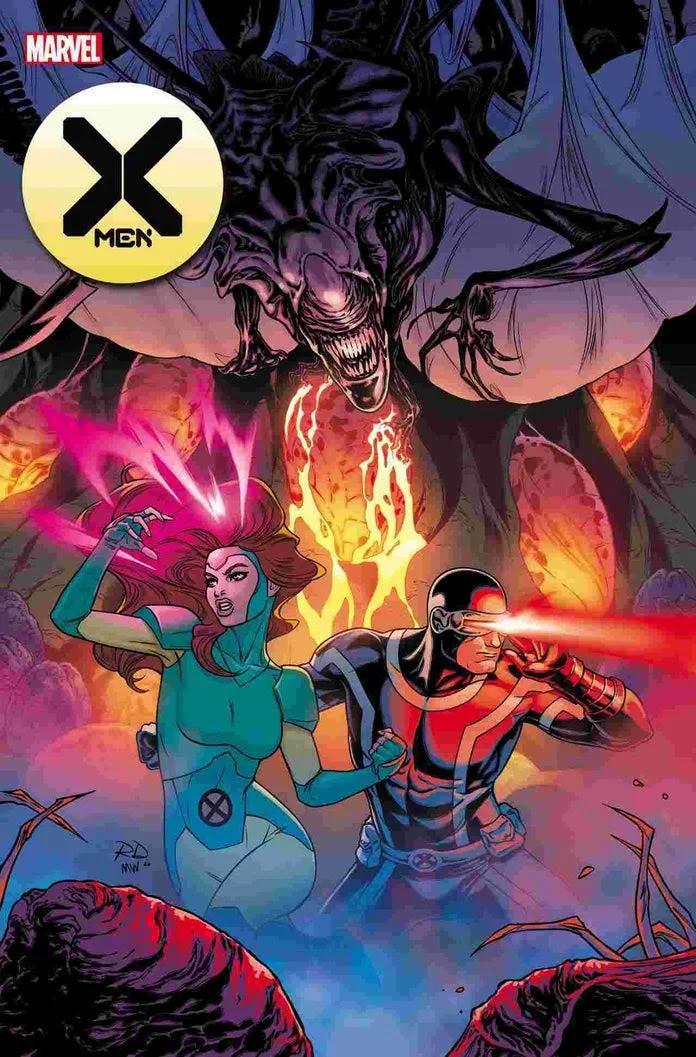 Marvel, Marvel vs Alien, Alien, X-Men