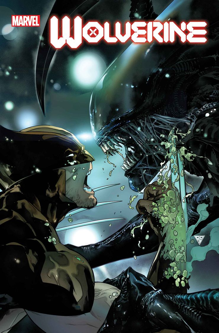 Marvel, Marvel vs Alien, Alien, Wolverine
