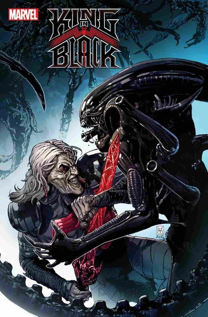 Marvel, Marvel vs Alien, Alien, King in Black