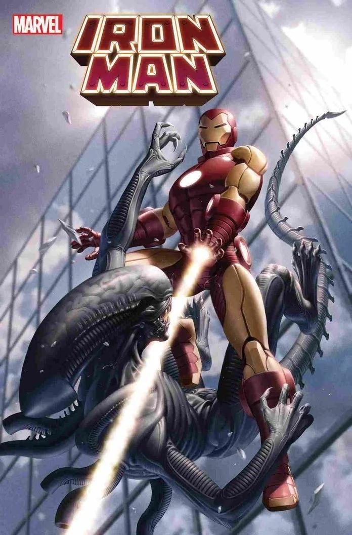 Marvel, Marvel vs Alien, Alien, iron Man