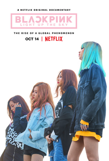 Blackpink Light Up the Sky Netflix