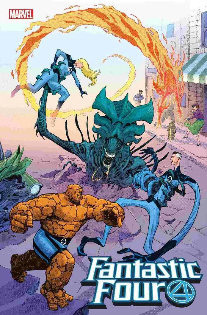 Marvel, Marvel vs Alien, Alien, Fantastic FOur