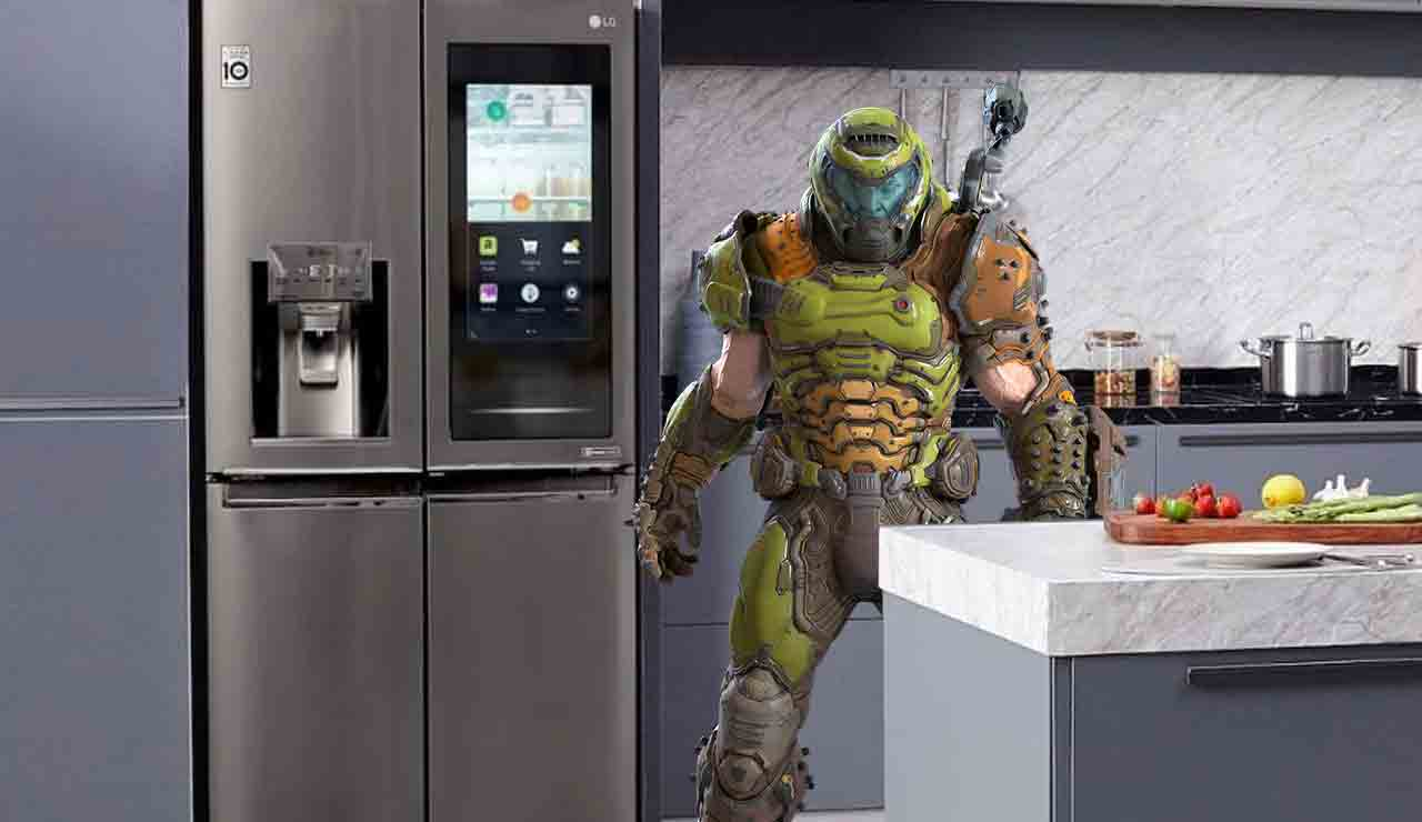 DOOM Eternal, Refrigerador, WTF