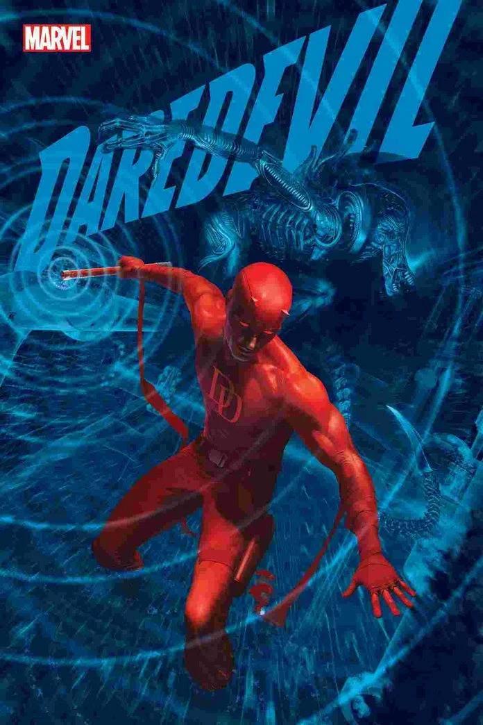 Marvel, Marvel vs Alien, Alien, Daredevil