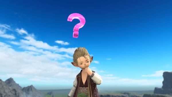 """Final Fantasy XIV El Emote """"Consider"""""""