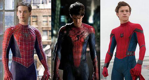 Spider-man actores