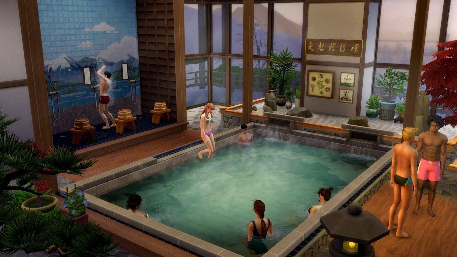escapada en la nieve the sims 4