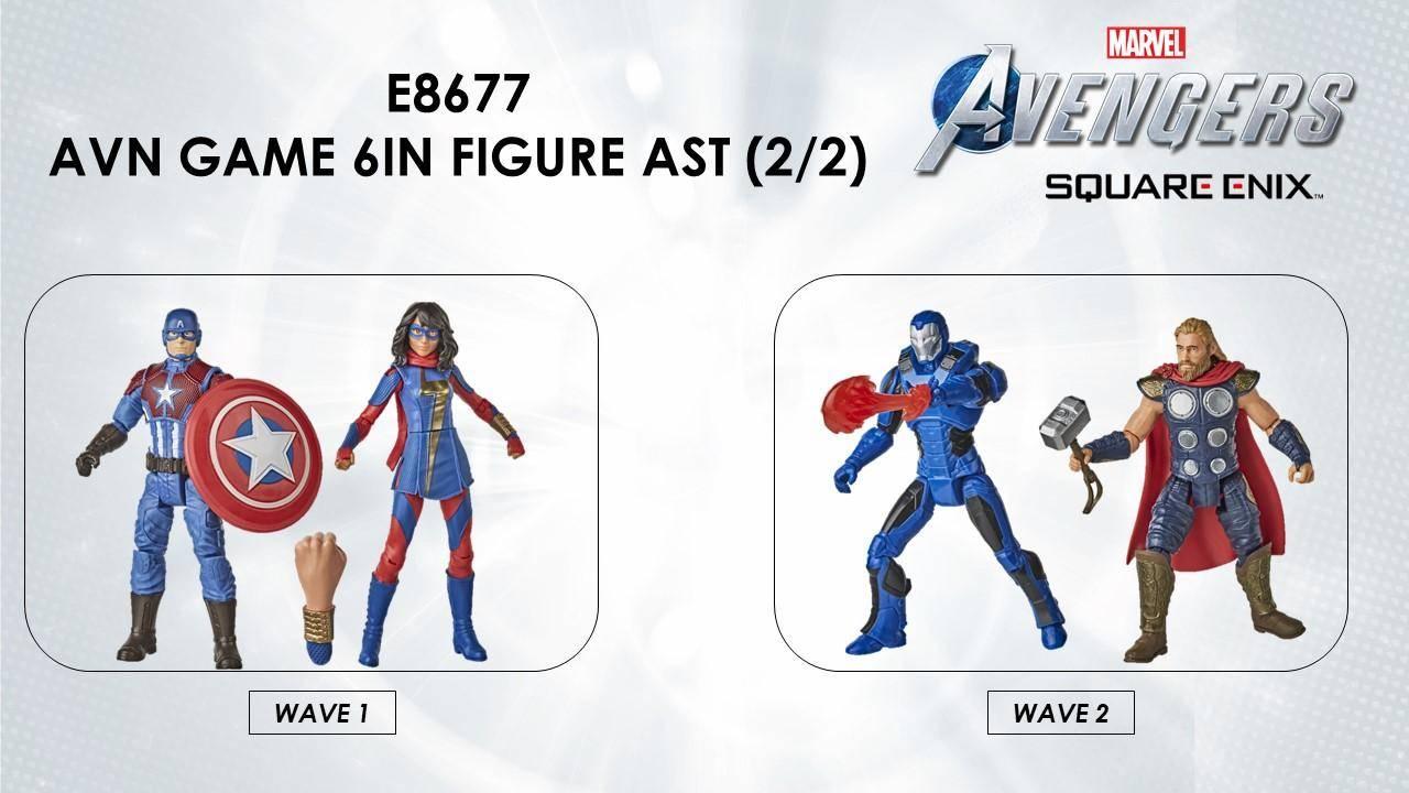hasbro figuras marvel's avengers