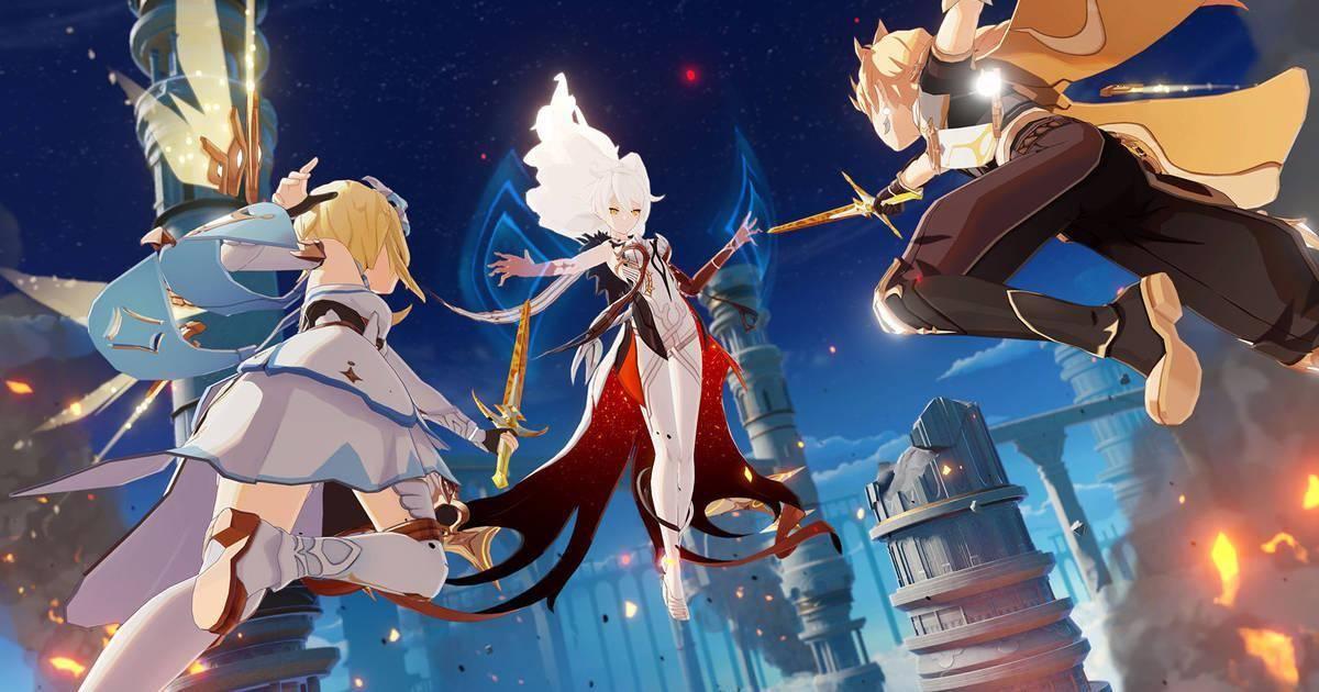 Genshin Impact, un juego en la cual está todo decidido en base a tus habilidades.