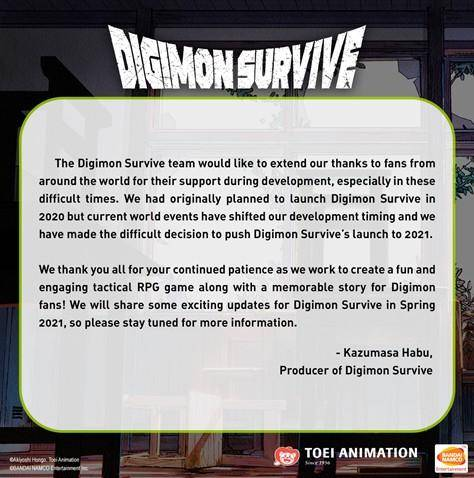 comunicado digimon survive