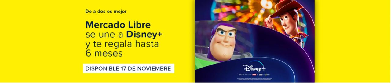Disney Plus, Disney +, Mercado Libre