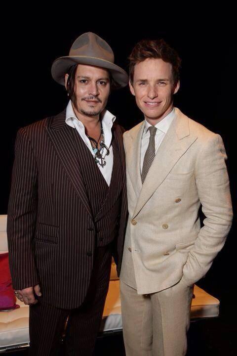Johnny Depp & Redmayne