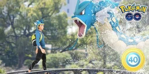 Pokémon Go Gyarados LV40