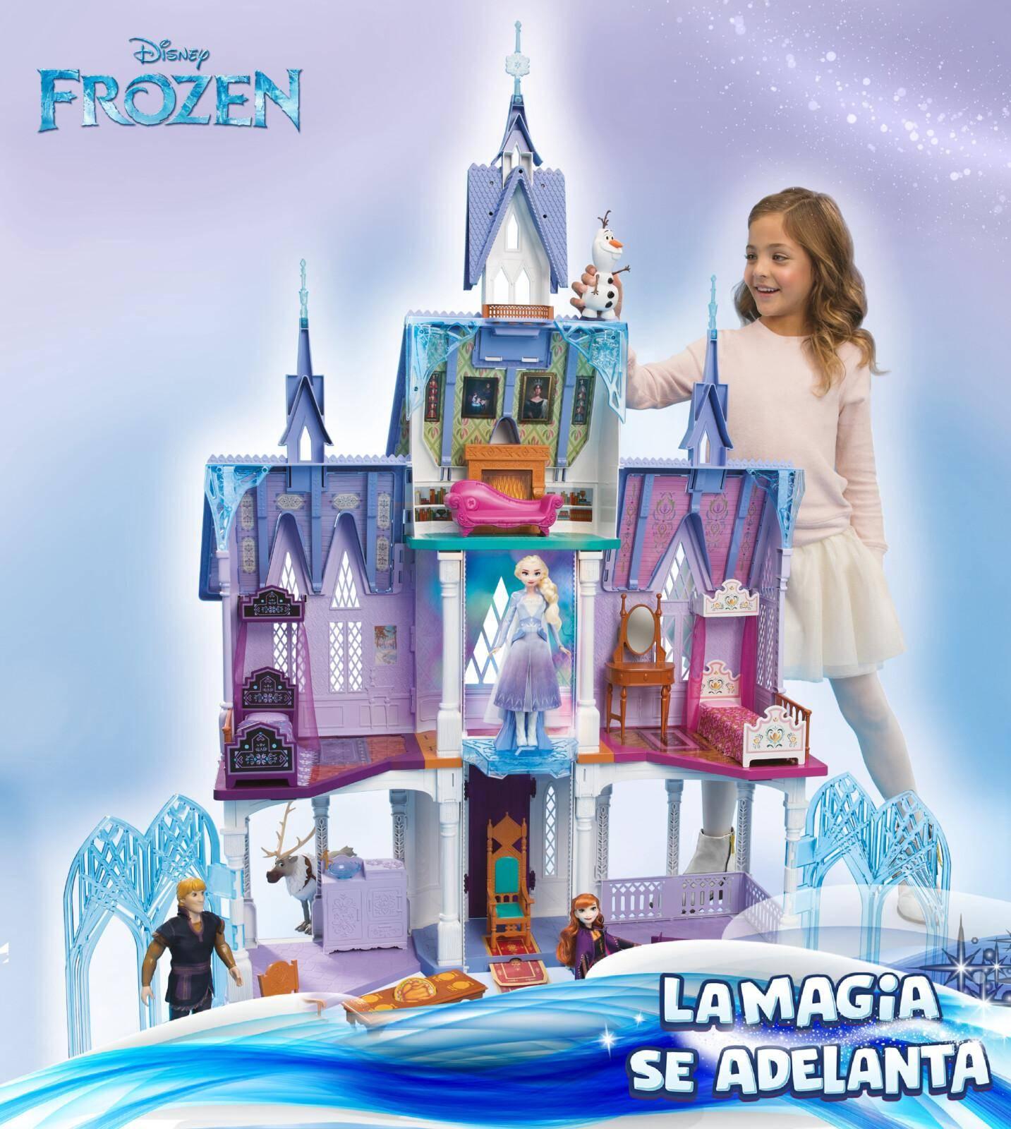 castillo de arendelle hasbro frozen 2