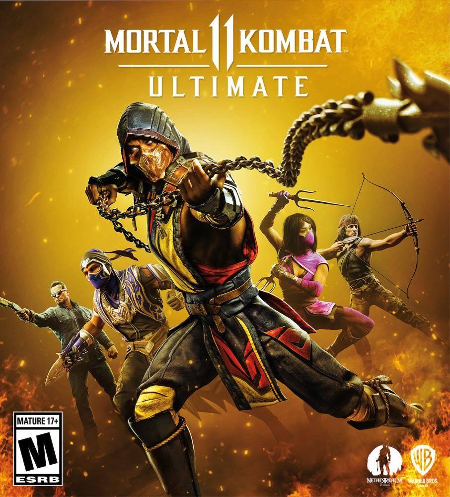 Mira la competencia de Mortal Kombat 11 Ultimate exclusiva de la Argentina Comic-Con está misma tarde 2