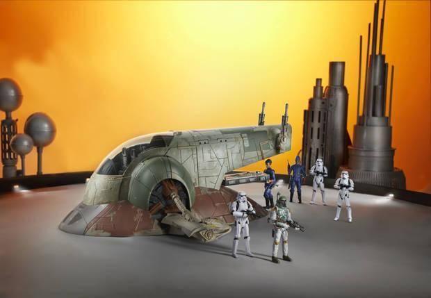 Star Wars, Hasbro, Dark Saber, Boba Fett, The Mandalorian, Slave 1,